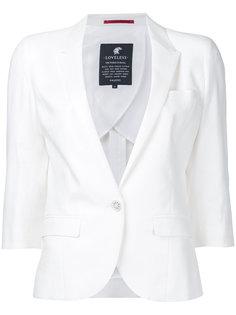 short sleeved blazer Loveless