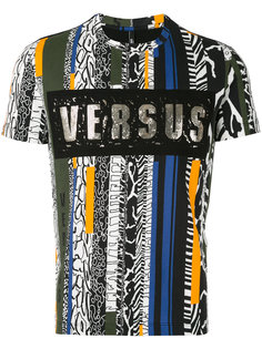 футболка в полоску Versus