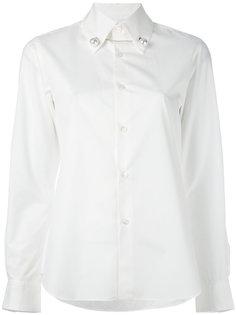 рубашка с косым воротником Comme Des Garçons Noir Kei Ninomiya