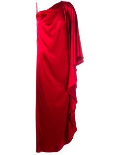 вечернее платье на одно плечо Gianluca Capannolo