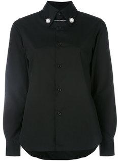 рубашка с фигурным вырезом Comme Des Garçons Noir Kei Ninomiya