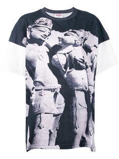 футболка с принтом скульптуры Ashish