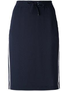 юбка с полосками по бокам Luisa Cerano