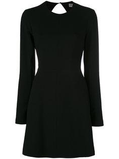 мини-платье с завязками на спине Saint Laurent