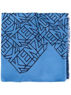 шарф с вышивкой Kenzo
