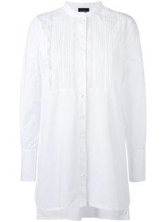 рубашка с плиссированным нагрудником Ermanno Ermanno