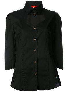 рубашка с вырезной деталью  Vivienne Westwood