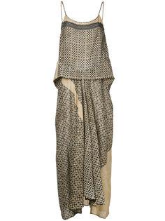многослойное платье  Uma Wang