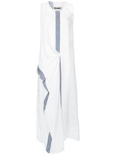 платье с полосатыми панелями Uma Wang