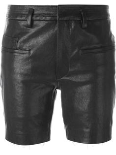 кожаные шорты Haider Ackermann