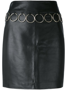 юбка с металлическими кольцами Jeremy Scott