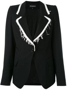 пиджак с бахромой  Ann Demeulemeester
