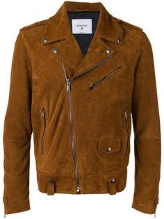 замшевая байкерская куртка Dondup