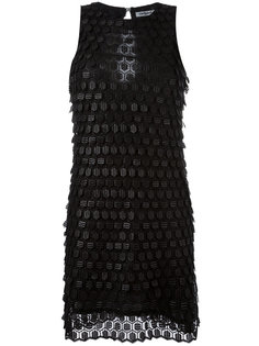 текстурированное платье Cacharel