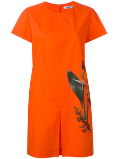 платье-футболка со складкой Cacharel