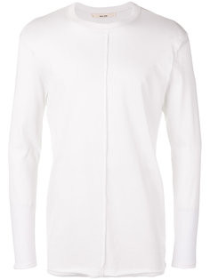 ribbed detail longsleeved T-shirt Damir Doma