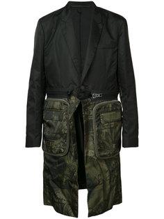 пальто средней длины с молнией Givenchy