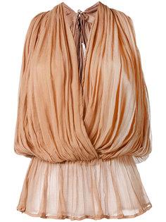 блузка с запахом Mes Demoiselles