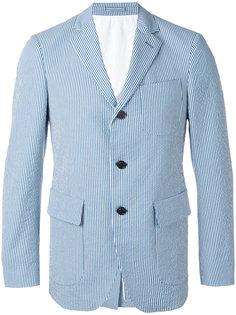 полосатый пиджак Wooster + Lardini