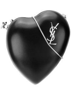 клатч с монограммой Love  Saint Laurent