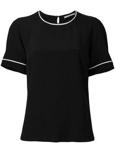 блузка с контрастным окантовкой Etro