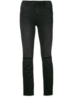 джинсы кроя слим с рваной отделкой Frame Denim