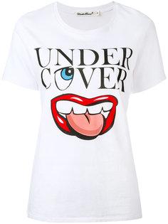футболка с логотипом Undercover