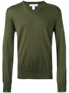 свитер с V-образным вырезом Comme Des Garçons Shirt