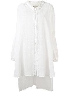 рубашка с неравномерным подолом свободного кроя Mes Demoiselles