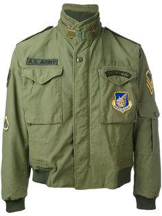 куртка-бомбер  в стиле милитари As65