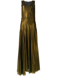 длинное платье без рукавов Mes Demoiselles