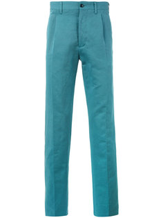 классические брюки со складками Mp  Massimo Piombo