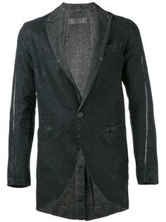 пиджак с открытой строчкой  Transit