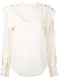 блузка с матросским воротником Chloé
