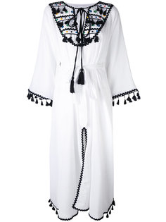 embroidered shirt dress Dodo Bar Or