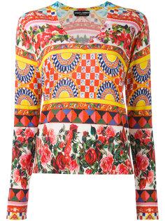 джемпер с принтом Mambo Dolce & Gabbana