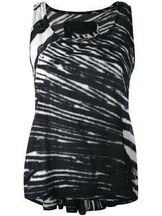 striped tank top Rundholz Black Label