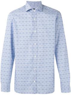 tiled pattern shirt Z Zegna