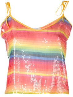 rainbow stripe tank Daizy Shely
