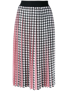 printed plisse skirt Marco Bologna