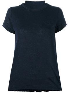 футболка с баской  Sacai