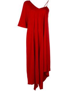 платье асимметричного кроя  Maison Margiela