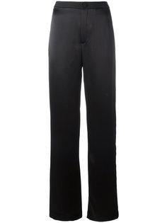 широкие брюки с полосками Lanvin
