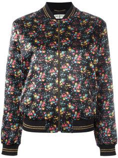 куртка с принтом Saint Laurent
