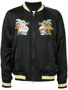 куртка с вышивкой Doublet