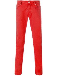 зауженные брюки Jacob Cohen