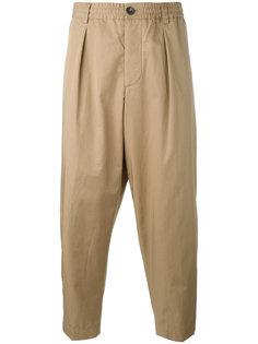 брюки с заниженным шаговым швом Marni