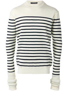полосатый свитер с удлиненными рукавами Y / Project