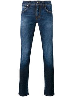 джинсы с вышивкой ананаса Dolce & Gabbana