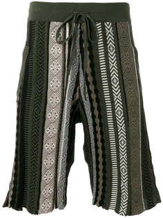 шорты с этническим орнаментом Laneus